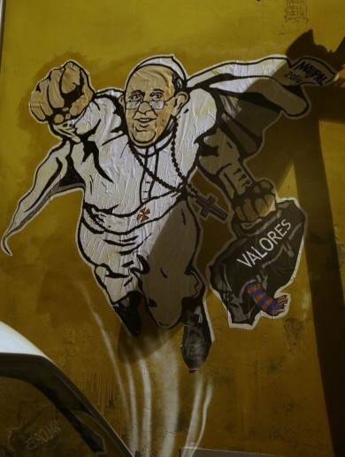 The Pope as a Superhero Pic of the Day