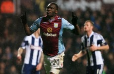 Benteke the Villa hero as they win seven-goal thriller against West Brom