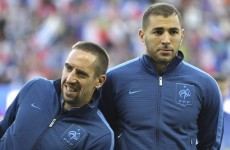 Ribery and Benzema cleared on underage sex charges