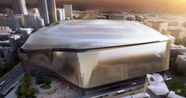 Real Madrid unveil plans for €400m Bernabeu revamp