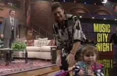 Miley Cyrus' first ever television appearance was actually really cute