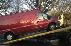 195 people penalised (and this van seized) in two-day garda blitz