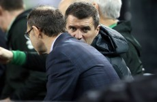 Roy Keane is checking out Hull's Irish contingent this afternoon
