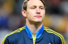 New Arsenal signing Kim Kallstrom injured 'in first training session'