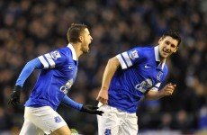 Premier League wrap: Naismith, Mirallas get Everton back on track