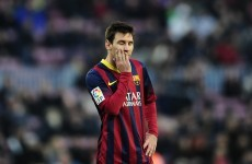 Barcelona lose at home for the first time since April 2012