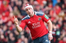 Johne Murphy determined to keep Munster on top after missing Ireland's call