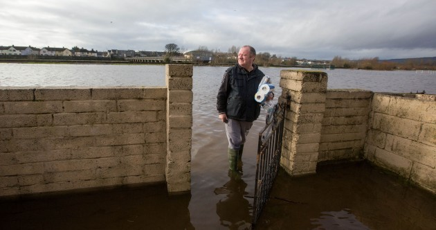 Pics: Limerick residents return home to assess flood devastation