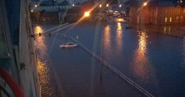Funding could be made available for floods clean-up