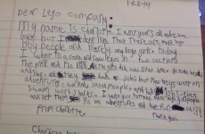 A 7-year-old girl wrote this brilliant letter telling Lego off