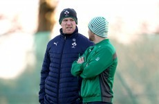 O'Connell recovering well as Fitzgerald and Reddan ruled out for Wales