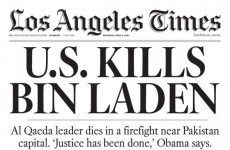 Rot In Hell: The US newspapers on Bin Laden's death