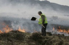 Fire chiefs warn that gorse blazes could continue into week