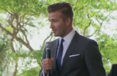 David Beckham confirms Miami as the base for his MLS team