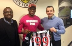 Guess who Eric Djemba-Djemba has just signed for...