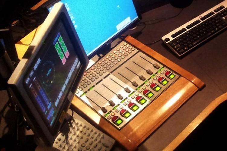 File photo of a radio studio.