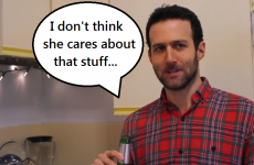 This video perfectly captures the torment of every couple's first Valentine's Day