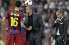 Did Sergio Busquets racially abuse Marcelo? Judge for yourself...