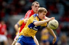 Podge Collins set for starting league debut with Clare senior footballers
