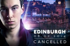 Hardwell gig in Edinburgh cancelled after safety fears at Irish shows