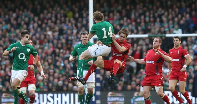 23 of the best pictures from Ireland's clinical win over Wales