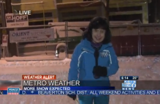 Runner suffers utterly mortifying fate on live TV report