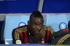 'Beautiful' Balotelli tears no concern, says Seedorf