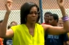Michelle Obama does Dougie (the dance)