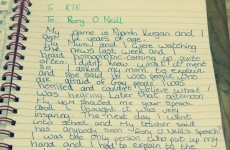 This 12-year-old's letter to RTE about homophobia is amazing