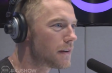 Watch Ronan Keating get into a cringetastic pretend row with an Australian radio host
