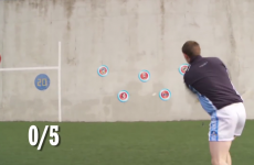 VIDEO: Hurling sharp-shooters have their aim tested with 5 tough targets