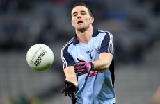 Cruciate setback rules Dublin footballer Kevin O'Brien out for the season