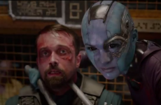 Did you spot the Irish actor in the massive new Guardians of the Galaxy trailer?