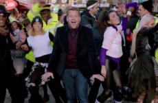 James Corden lip-syncs and dances through London in this delightful Cadbury ad