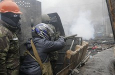 As Kiev barricades burn, the EU mulls sanctions against Ukraine