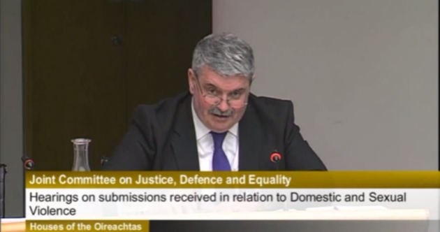 'My father was a thug and a bully': Applause for Senator after domestic abuse speech