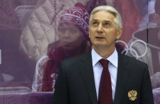 Defeated Russian hockey coach gives amazing interview: 'Eat me alive right now'