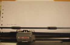 Printer plays outstanding rendition of Eye of the Tiger