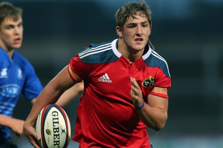 Dan Goggin is selected at 13 for the Ireland U20s.