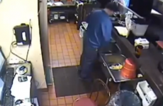 Pizza Hut 'embarrassed' after district manager caught urinating in sink