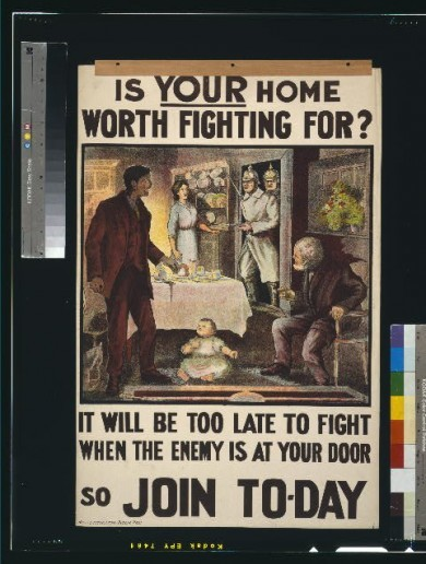 'When are the other boys coming?' WWI posters try to recruit Irish friends