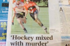 New Zealand paper calls hurling 'hockey mixed with murder'