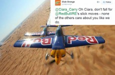 Red Bull and Club Orange had a hilarious fight over a woman on Twitter