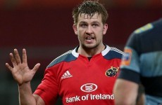 Dave Foley thriving at Munster after 'difficult conversations' with Penney
