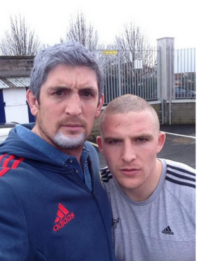 When Munster's James Downey met Love/Hate's Nidge... It's the sporting tweets of the week