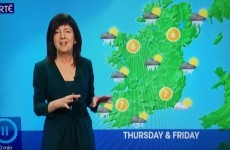 This one Evelyn Cusack moment perfectly sums up the Irish climate