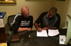 Jason Collins becomes the first openly gay active player in the NBA