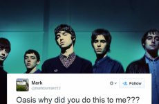 Oasis fans are fuming about that so-called big announcement