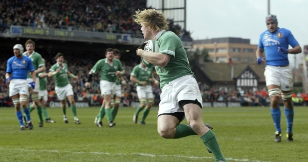 End of an era: Looking back on a first glimpse of Brian O'Driscoll in the flesh