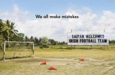 New Irish Volkswagen ad makes brilliant Saipan row reference